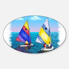 Unique Sailboat Decal