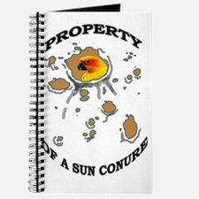 Property of a Sun Conure Journal