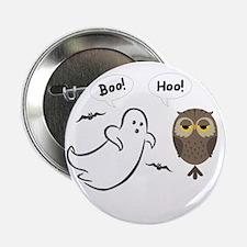 Boo Hoo! Funny Halloween Button