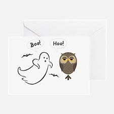 Boo Hoo! Funny Halloween Greeting Card