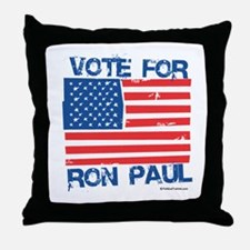 Vote for Ron Paul 2008 Throw Pillow