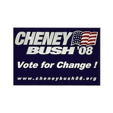 The Cheney-Bush 08 Rectangle Magnet