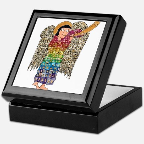 Rainbow Angel 2 Keepsake Box