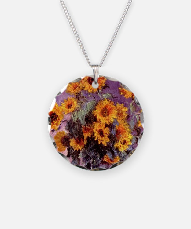 Sunflowers by Monet Necklace