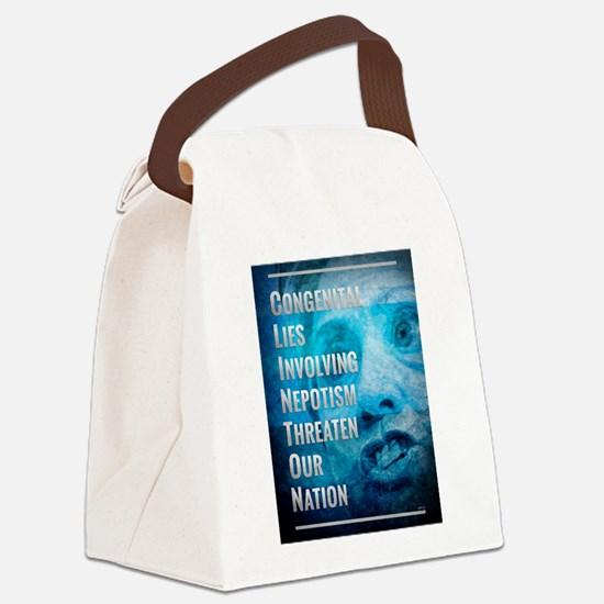 Hillary Clinton Is A Fraud Canvas Lunch Bag