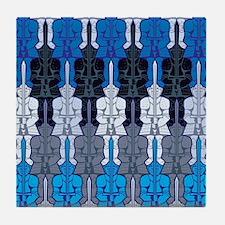Infi-Knight Tessellation Tile Coaster