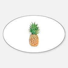 Pineapple Watercolor Decal