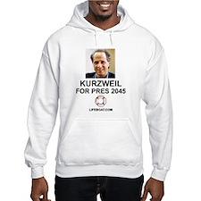 Kurzweil Hoodie with LIFEBOAT.COM
