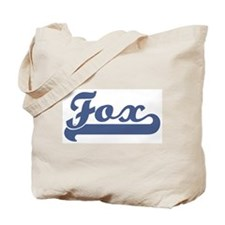 Fox (sport-blue) Tote Bag