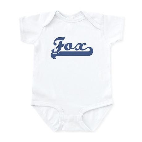Fox (sport-blue) Infant Bodysuit