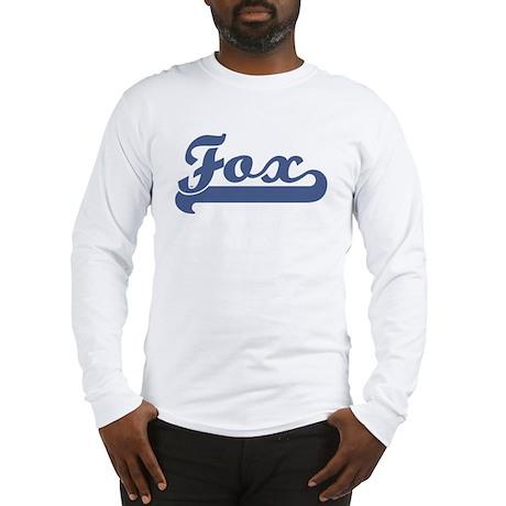 Fox (sport-blue) Long Sleeve T-Shirt