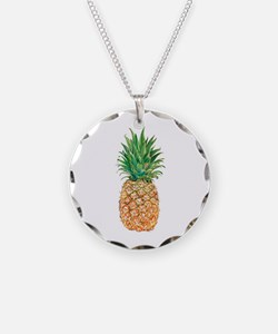 Pineapple Watercolor Necklace