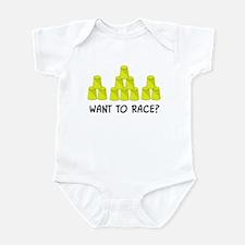 Stacking Race Infant Bodysuit