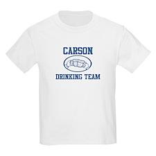 CARSON drinking team T-Shirt