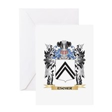 Escher Coat of Arms - Family Crest Greeting Cards
