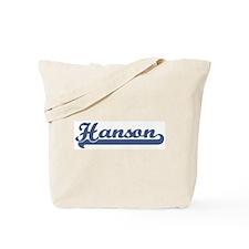 Hanson (sport-blue) Tote Bag