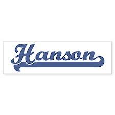 Hanson (sport-blue) Bumper Bumper Sticker