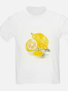 Watercolor Lemon T-Shirt