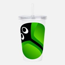 Cute Irish girl Acrylic Double-wall Tumbler