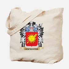 Espadater Coat of Arms - Family Crest Tote Bag