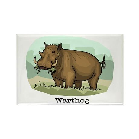 Warthog Rectangle Magnet (100 pack)