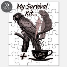 Parrots and Coffee Puzzle