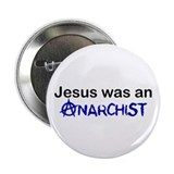 Christian anarchy Buttons