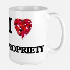 I Love Impropriety Mugs