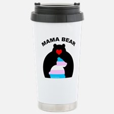 Mama Bear Trans Travel Mug