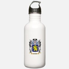 Evans Coat of Arms - F Water Bottle