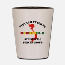 5th Special Forces Group Shot Glass