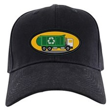 Recycling Truck Baseball Cap