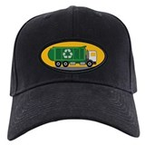 Kids garbage truck Baseball Cap with Patch