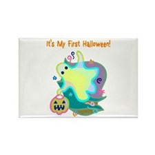 Baby's First Halloween Rectangle Magnet