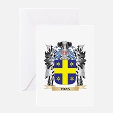 Faas Coat of Arms - Family Crest Greeting Cards