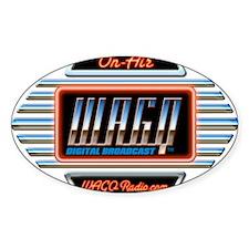WAGQ Logo Decal
