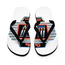 WAGQ Logo Flip Flops