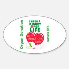 Kidney For Life Decal