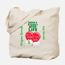 Kidney For Life Tote Bag