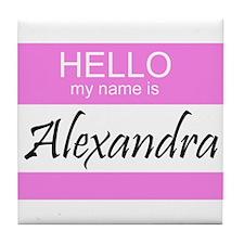 Alexandra Tile Coaster