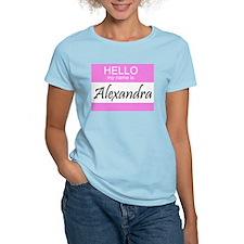 Alexandra Women's Pink T-Shirt