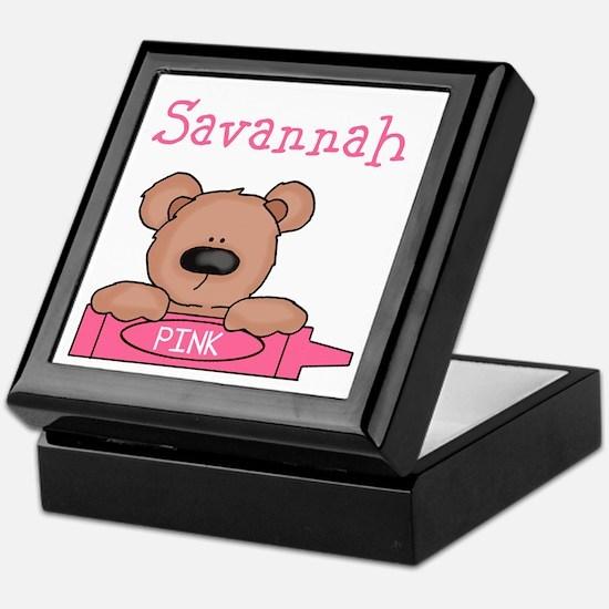 Savannah's Keepsake Box