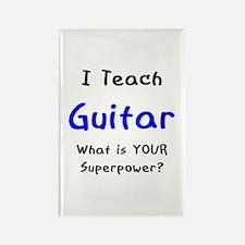 teach guitar Rectangle Magnet