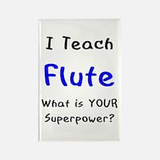 teach flute Rectangle Magnet
