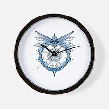 Tribal Eye Wall Clock