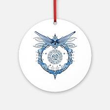Tribal Eye Round Ornament