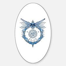 Tribal Eye Sticker (Oval)