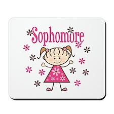 Sophomore Girl Mousepad
