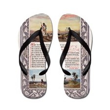 The_Sunday_at_Home_1880_-_Psalm_23 Flip Flops