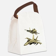 Cute Miscellaneous Canvas Lunch Bag
